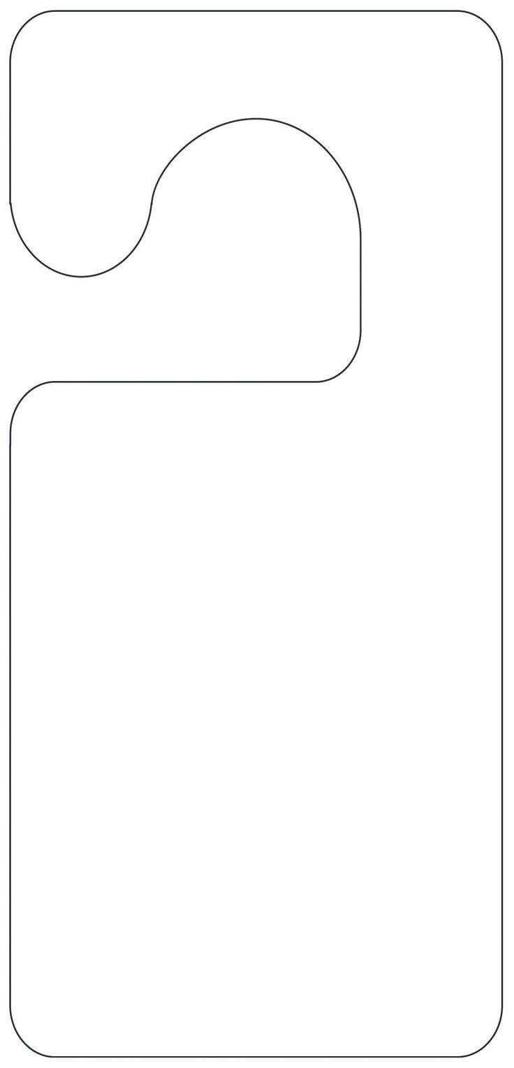 The 25+ best Door hanger template ideas on Pinterest