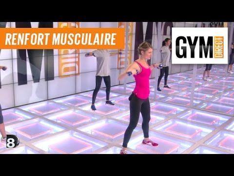 Exercices tonification avec haltères - Renforcement musculaire - 112 - YouTube