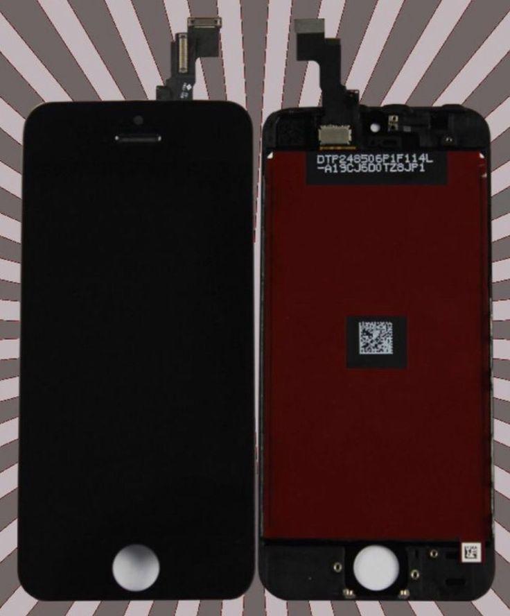 iPhone 5 Original Ratina LCD Display Bildschirm Komplettset Top Qualität schwarz