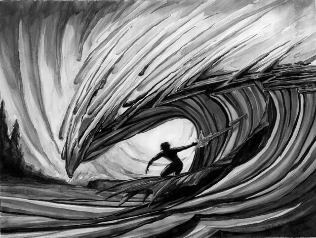 Todd fischer surf art