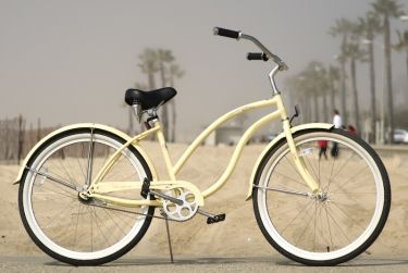 I miss my yellow beach cruiser, Clementine. I'd like another bike... and I'll be the only street cruiser in Dallas?