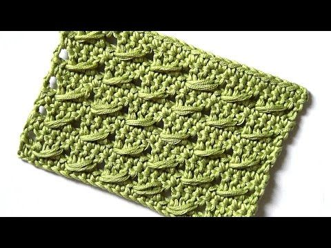 Crochet pattern The dashes - YouTube