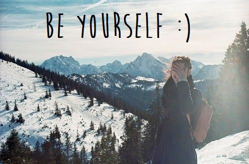 two word quotes be yourself