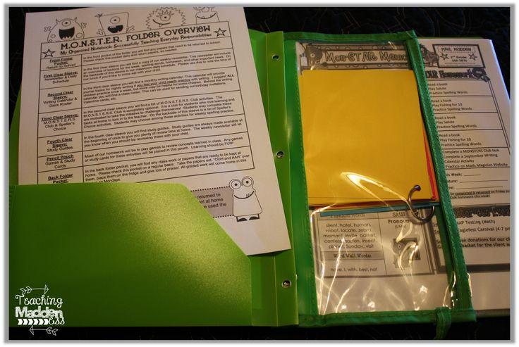 Homework - home communication folders explained!