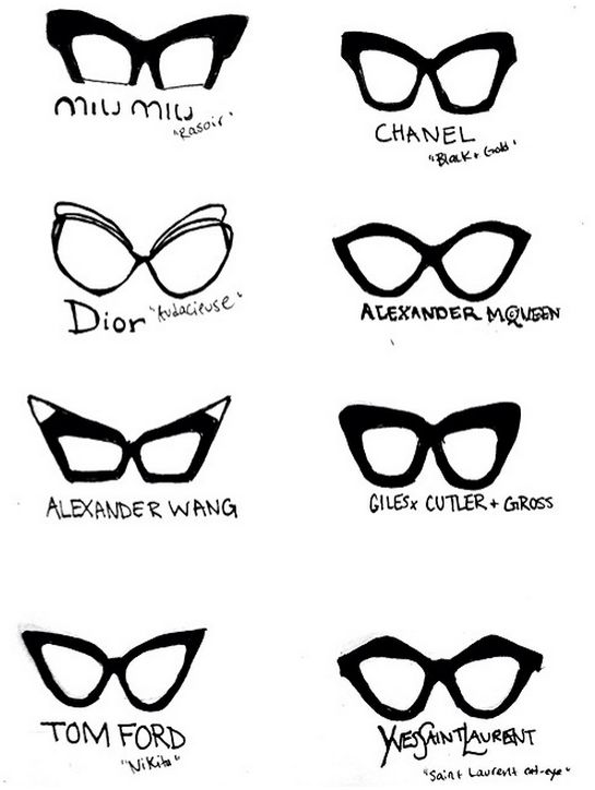 260 best glasses prints images on pinterest lenses drawings and knowing your classic eye glasses style ccuart Gallery