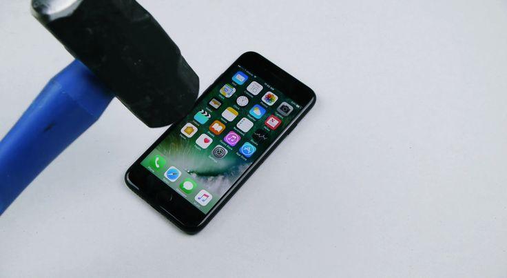 iPhone 7, Çekiç ve Bıçak ile Test Edildi…
