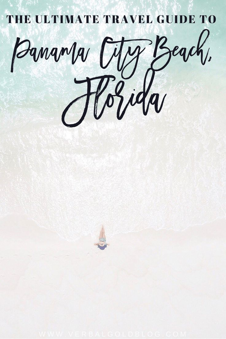ultimate travel guide to Panama City beach Florida travel blogger usa road trip