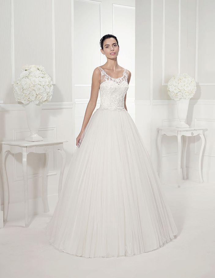 15 besten Romantic Wedding Dresses Bilder auf Pinterest ...