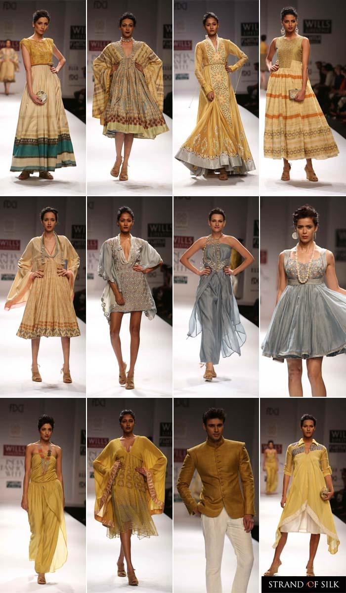 Indian Fashion - Indian Designer - Indian Fashion Week Spring Summer 2013 - Virtues