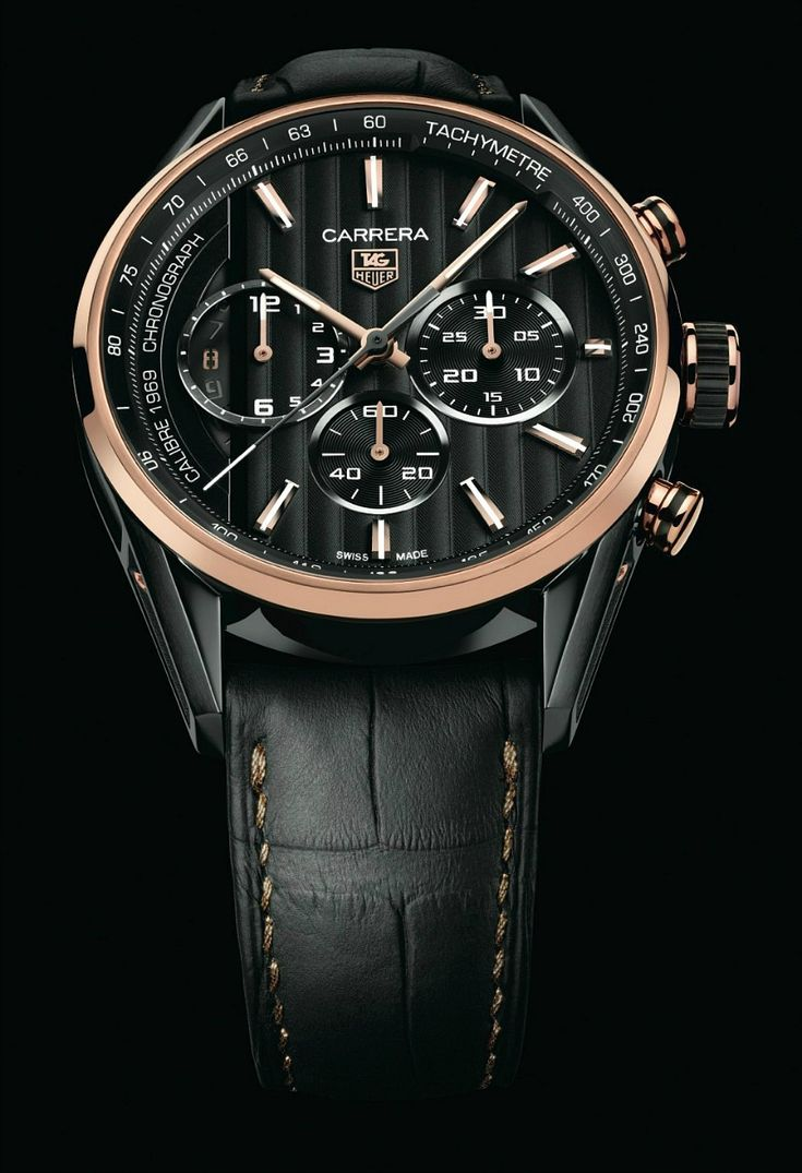 TAG Heuer Debuts Carrera Calibre 1969 Watch With Black and Gold Limited Edition