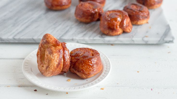 chromes heart Brown Butter Morning Buns  a step by step guide with  gifs    Sprinkle with Salt