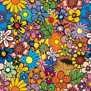 vivid flowers, photowall.se