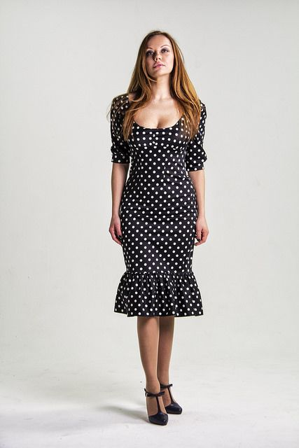 Polka Dot Dress \ Fairy Tailor Fashion | by ann_iva