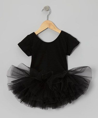 Take a look at this Black Skirted Leotard - Toddler by AdoraBelle Dancewear on #zulily today!