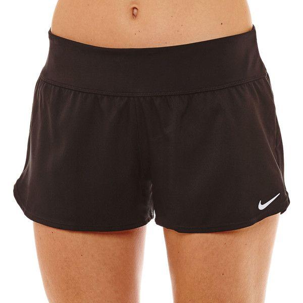 Nike Swim Shorts ($38) ❤ liked on Polyvore featuring shorts, nike and nike shorts