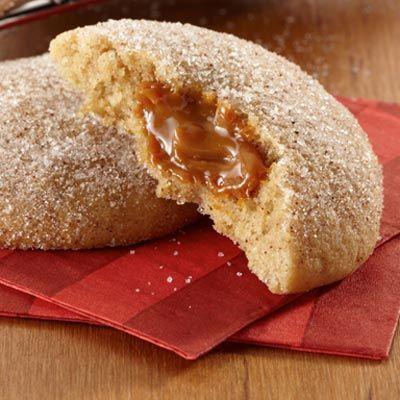 Sweet & Salty Dulce De Leche Cookies