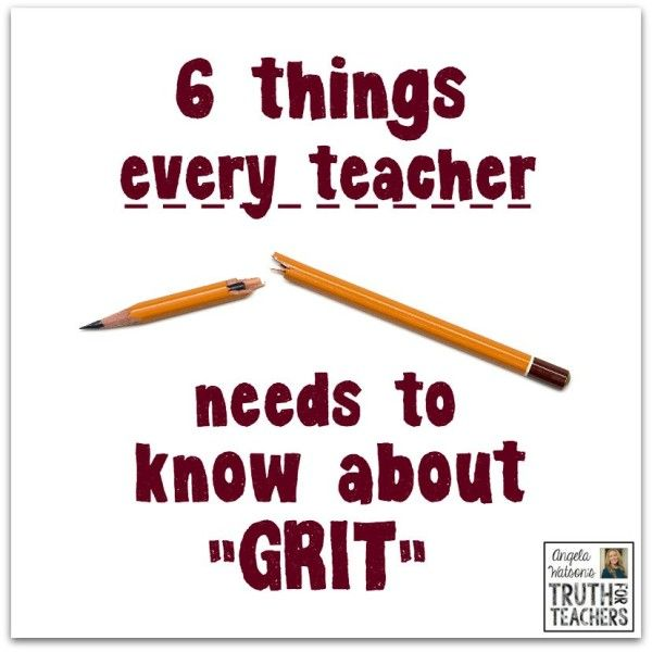 What grit is (and isn't) and how to teach it responsibly