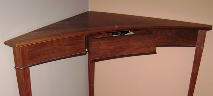 small corner table for front entry