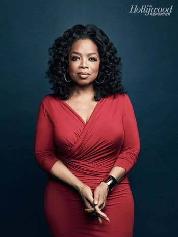 Oprah Winfrey poses for The Hollywood Reporter's Rule Breakers portfolio. THR photographed the media mogul at her Montecito, Calif., home. (via @Hollywood Reporter; Photo by: Joe Pugliese)