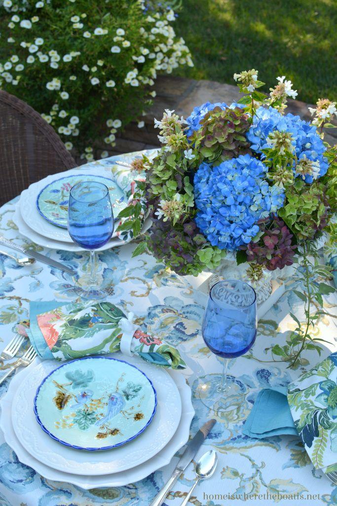 Summer's Last Hurrah with Hydrangeas and Majolica ...