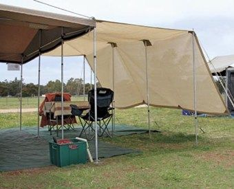 How to make a shade cloth for your camper