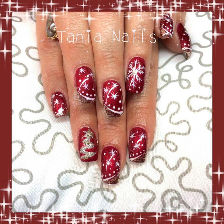 My christmas nails art