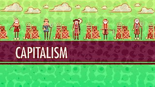 Capitalismo e Socialismo: Crash Course História Mundial  O canal de vídeos educacionais Crash Course fala sobre capitalismo e socialismo.  Em vídeo de 2012 John Green com seu estilo irônico e bem humorado fala sobre a história do capitalismo e traça um paralelo entre o capitalismo e o socialismo.  Apagar as luzes  Clique  Retroceder AvançarEspaço / /F  Abaixo transcrevemos as legendas do vídeo. Oi. Eu sou o John Green este é o Crash Course História Mundial e hoje vamos falar de capitalismo…