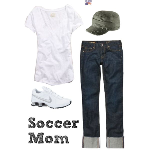 """More Soccer Mom Duties"" by gibbiesmom on Polyvore"