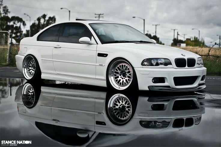 BMW E46 M3 white slammed Bmw, Bmw e46 sedan, Bmw cars