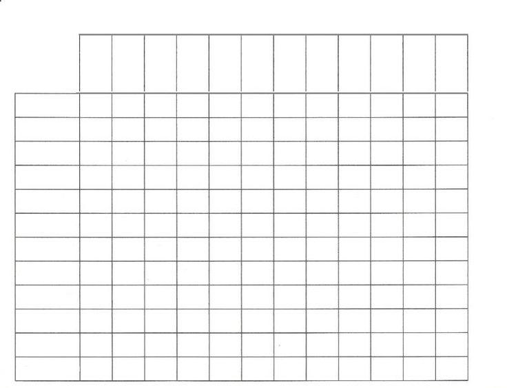 Best Empty Color Chart Images On   Colour Chart
