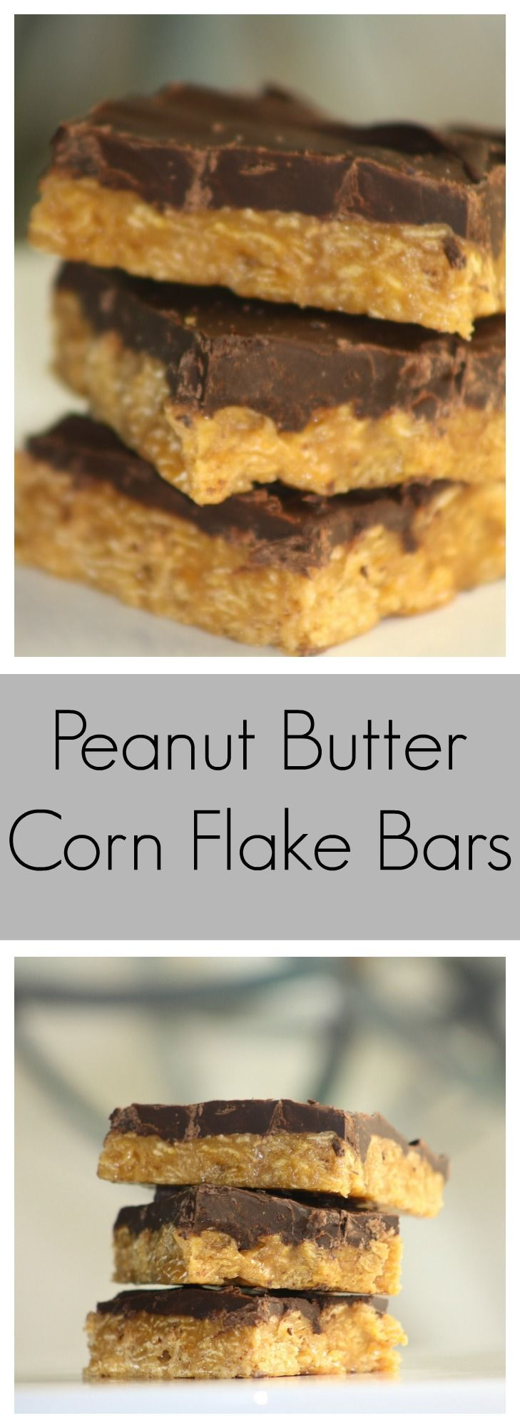 PB corn flake bars