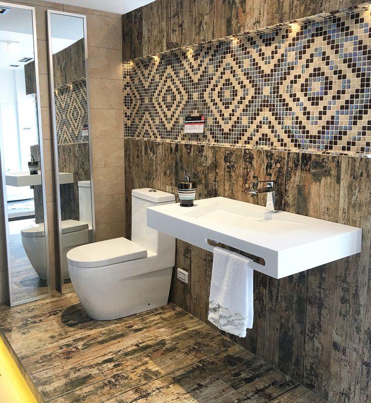 Diseño comercial sala de ventas baños  Design by: EA DISEÑO & DECORACIÓN