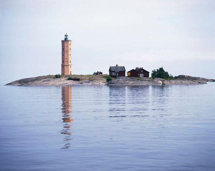 The Söderskär lighthouse.