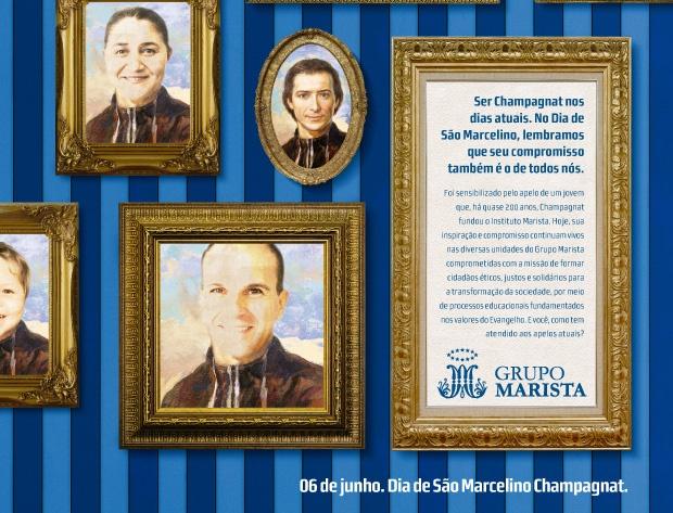 Brasil Centro-Sul: Campanha celebra o Dia de São Marcelino Champagnat