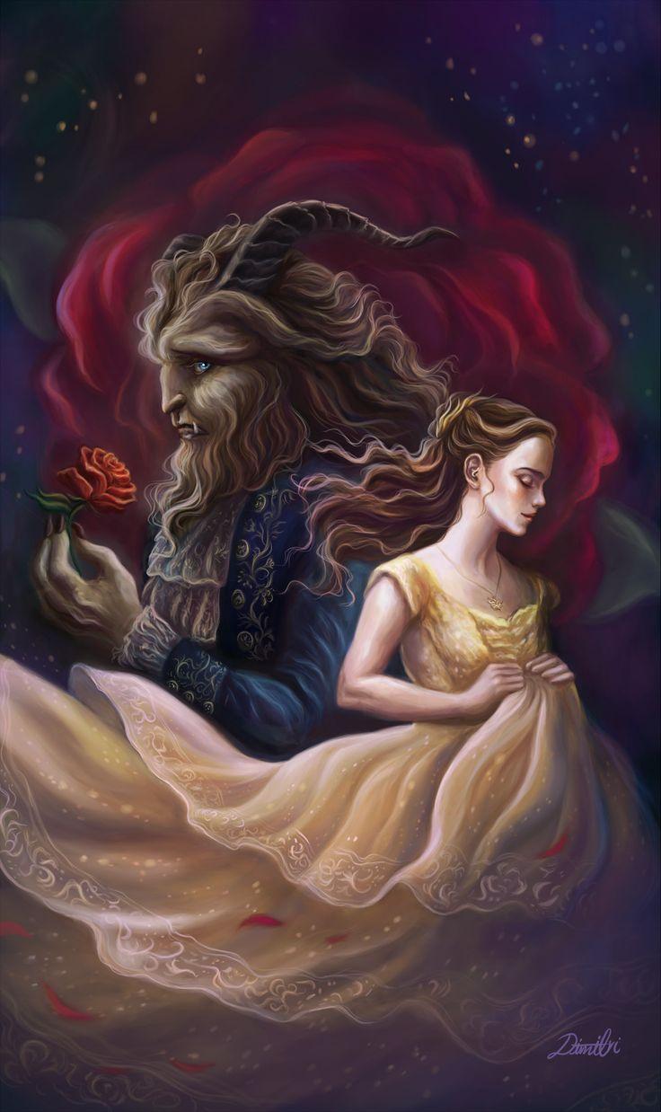 Beauty and the Beast 2017, Dimitris Karakousis on ArtStation at https://www.artstation.com/artwork/Y6VQw