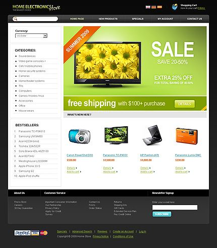 Sweet Electronic Online Stores