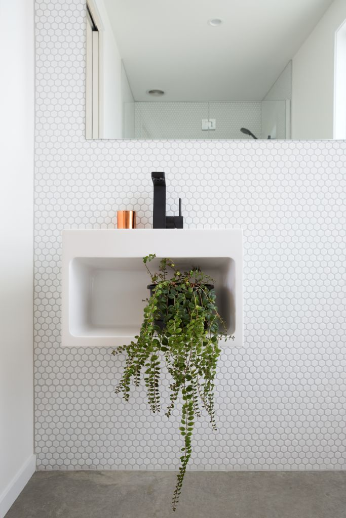 Simple but with great attention to detail! Designed by Tane Cox of Red Architecture #ADNZ #bathroom #architecture