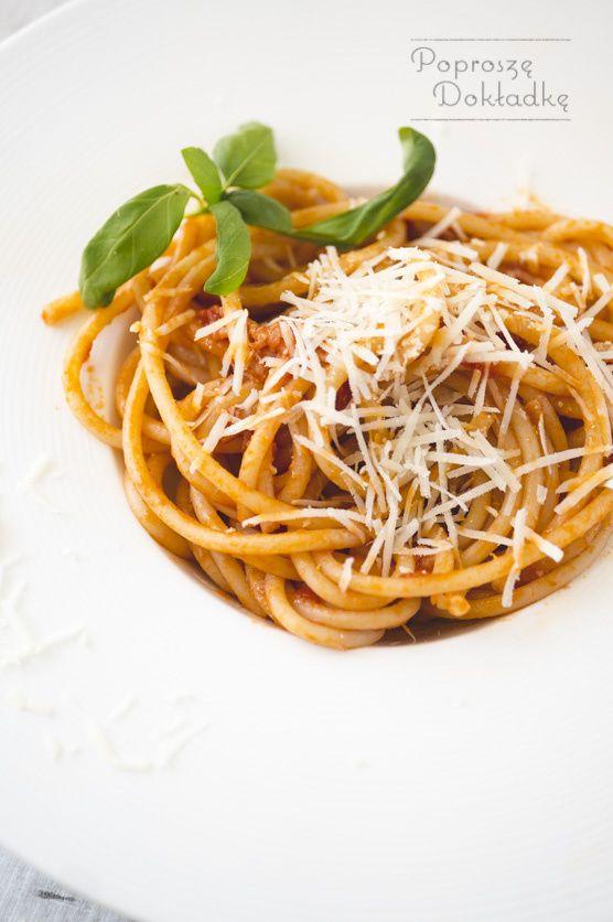 Przepis na spaghetti all'Amatriciana