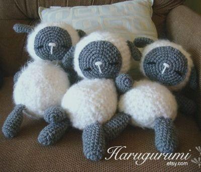 Amigurumi Sleeping Sheep : 1000+ ideas about Crochet Sheep on Pinterest Amigurumi ...