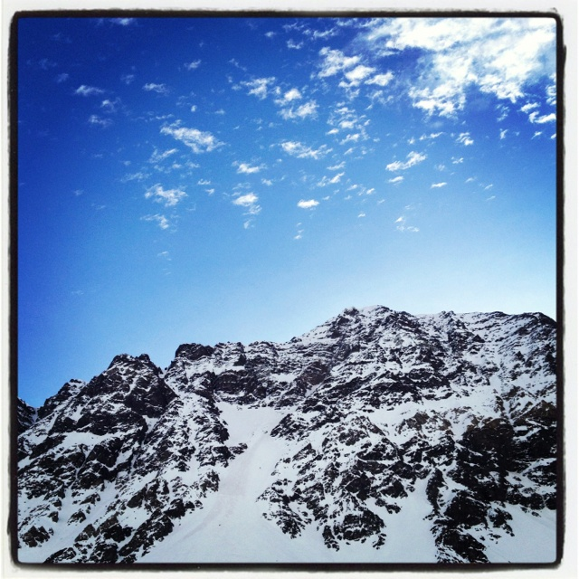 Bello día en la nieve!