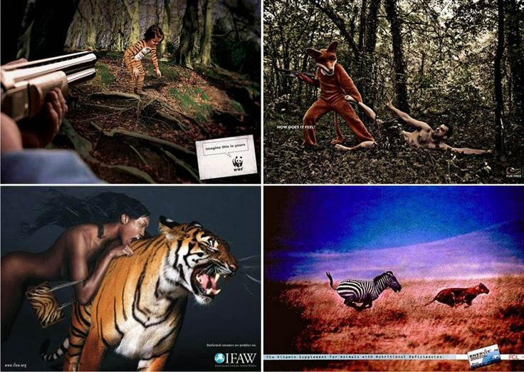 Vetustideces: Ilustraciones del mundo al revés (III): la caza inversa