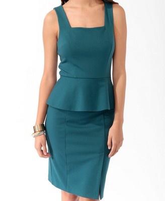 Peplum Dress Forever 21 | Hi Sugarplum!: Sunday Shopping