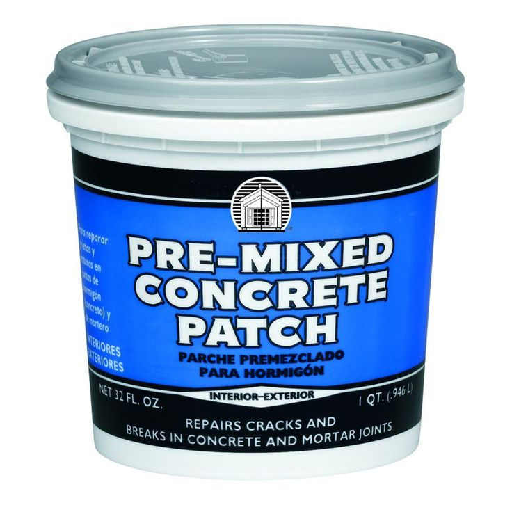 Phenopatch 1 qt gray premixed concrete patch34611 mix