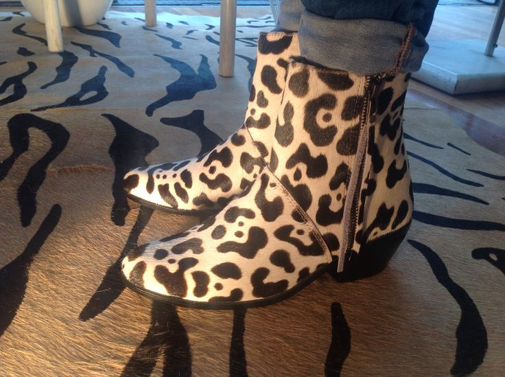 Our new animal print boots have arrived in store