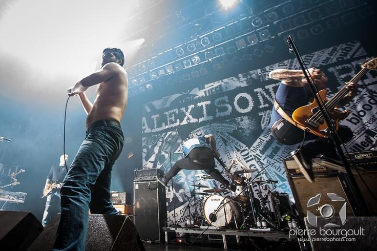 Alexisonfire | Metropolis | Pierre B Photo | Montreal Music Photographer