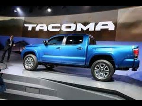 2016 Toyota Tacoma Review - brand new redesign