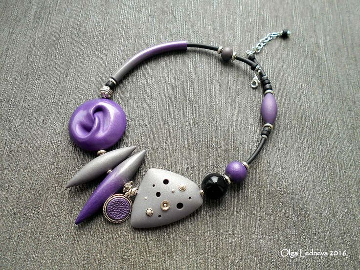 CERNIT Violet bead - inspired by Dan Cormier   by Ольга Леднева