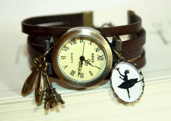 Hoi! Ik heb een geweldige listing op Etsy gevonden: https://www.etsy.com/nl/listing/233722318/prima-ballerina-silhouet-lederen-armband