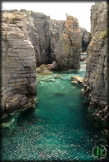 Le piscine naturali della Conca Carloforte from sARDINIA ITALY