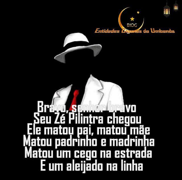 Entidades Ciganas da Umbanda (Clique Aqui) para entrar.: PONTO DE ZÉ PILINTRA